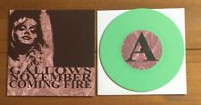 "Gallows and November Coming Fire - Split Ep 7"" turquoise/green Vinyl"