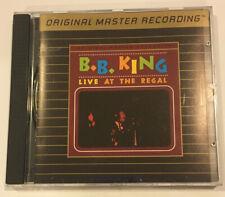 BB King Live At The Regal Mobile Fidelity Sound Lab MFSL 24k Gold CD