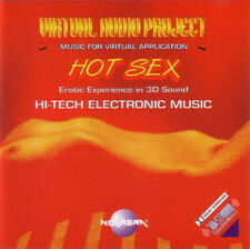Virtual Audio Project: Hot Sex, Vol. 8 by Cybertracks (CD, 1999, Novaera) - NEW