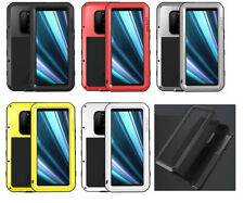 Shockproof Waterproof Gorilla Glass Metal Rugged Defender Case For Sony Xperia 1
