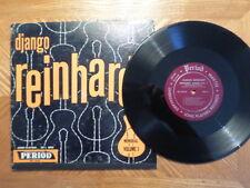 "PERIOD 10"" 33 LP RECORD/SPL 1010/DJANGO REINHARDT/MEMORIAL VOLUME 1/ EX DG VINYL"