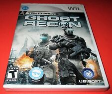 Tom Clancy's Ghost Recon Nintendo Wii *Factory Sealed! *Free Shipping!