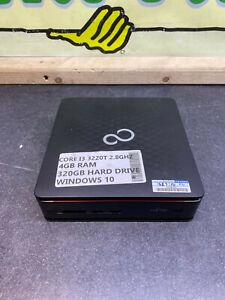 Fujitsu Esprimo Q510 WINDOWS 10 USFF Desktop Core i3 3rd Gen 2.8GHz 4GB 320GB 3F