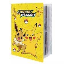 ⭐️Classeur Carte Pokemon Album Protection Pikachu🌟Rangement 240 Protège Cartes