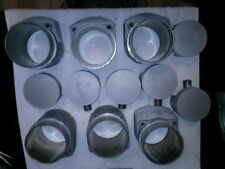 Porsche 930 Turbo Mahle Pistons and Cylinders 97P12 - 97ZN1 - Set of 6