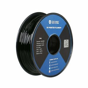 SainSmart 3mm TPU 3D Printing Filament, 1.0 kg, Black