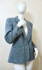 New listing Vintage 70s Pendleton Gray Wool Tweed Blazer Suit Walking Jacket S M