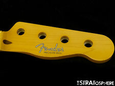 * Fender STING Precision P BASS NECK Maple Vintage 50s Guitar Tinted Maple #163