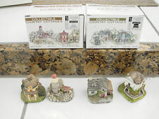 Collectible Country Cottages lot-4 Rga Industries 1994 Carol Gordon Light House