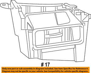 CHRYSLER OEM Evaporator Heater-Plenum 55038179AF