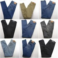 New Levi's Womens 311 Shaping Skinny Mid Rise Stretch Denim Jeans Sizes 25-34