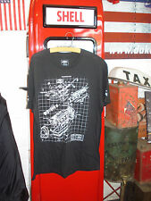 FORD ENGINE BLOCK T SHIRT (GENUINE OFFICIAL FORD) SIZE LARGE(WE ARE IN THE UK