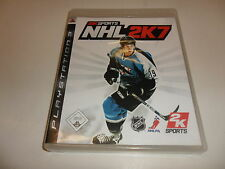 PlayStation 3 PS 3  NHL 2K7
