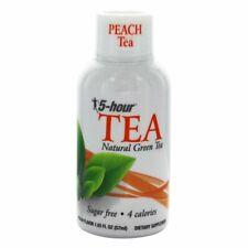 5 Hour Energy Natural Green Peach Tea 11 Ct 1.93 oz Shot Bottles Five Hr 04/21