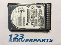 "HP 300GB DP 6G 10K SC 2.5"" HDD SAS 652564-B21 653955-001 597609-001 599476-001"