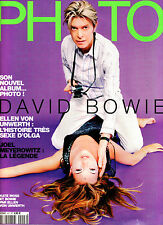 PHOTO Magazine #497 DAVID BOWIE & KATE MOSS by ELLEN VON UNWERTH Joel Meyerowitz