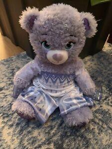 Build A Bear Wearing Elsa Dress Frozen