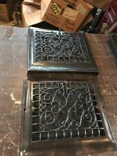 T 18 2available price Each antique floor to wall  heating Grate 12 5/8 X 14.5