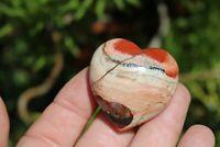 Brecciated Jasper Mineral Puffy Heart US Seller! Free Ship! Lot# GB-13