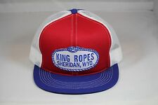 KING ROPES Hat Mesh Trucker Hat - Red White and Blue