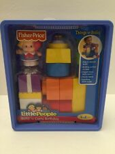 Fisher Price, Little People: Build n Carry Birthday, Brand New and Sealed