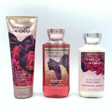 Bath and Body Works A Thousand Wishes Trio Set Lotion, Body Cream and Shower Gel