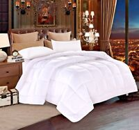 Everest DUVET INSERT Luxury White Down Alternative Quilted Reversible Comforter/