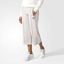 nwt~Adidas SEVEN-EIGHTH CREPE SAILOR TRACK PANTS Sweat Yoga firebird~Womens sz M