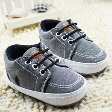 Ralph Lauren POLO Originals Gray NewBorn Baby Shoes