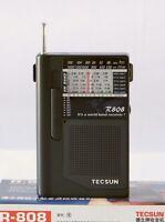 TECSUN R808 AM/FM/SW Radio Receiver   (ENGLISH MANUAL)
