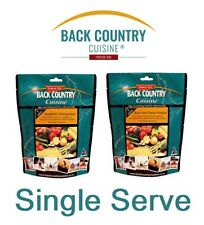 Back Country Cuisine - Single Serve Freeze Dried MRE - Made in NZ