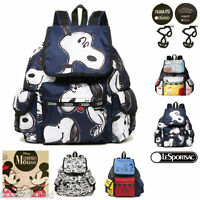 LeSportsac Voyager Backpack Disney Minnie Mouse,Peanuts Snoopy NYC Free Ship NYC