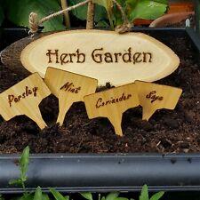 Handmade Garden Sign. Fairy garden. Herb garden. Shed sign. Personalised