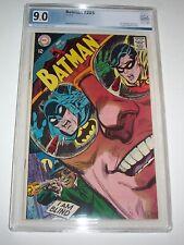 """Batman #205 - PGX VF/NM 9.0 - 1968 DC Silver Age - """"Blind as a Bat!"""""""