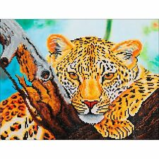 Diamond Dotz - Leopard Look DD7.002 - Diamond Facet Art Craft Kit