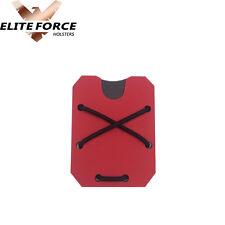 Kydex Wallet Money Clip EMT Red, Carbon Fiber edition!!!