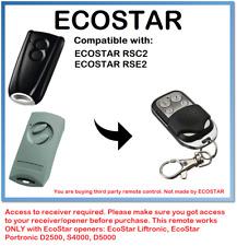ECOSTAR RSC2, ECOSTAR RSE2 Compatible Remote Control Rolling code 433.92MHz.