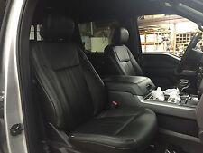 2015-2017 Ford F150 XLT Super Crew Katzkin Leather Seat Kit Special Design NEW 3