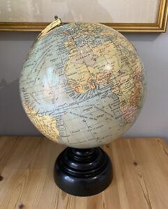 Antique Geographia 10 Inch Terrestrial Globe