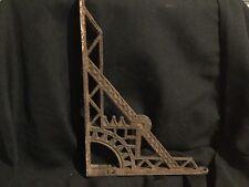 Antique Cast Iron Metal Decorative Bracket Corner Shelf Part