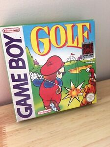 Nintendo Gameboy Golf 1990 Immaculate in Box
