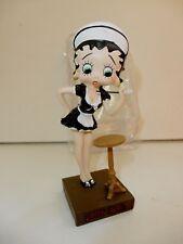 """Figurine Betty Boop Résine """"Soubrette"""" Hauteur 13 cm (Etat Voir Description)"""
