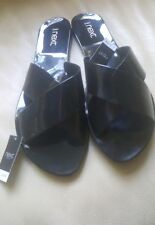 WOMEN'S SIZE 7 FLAT CASUAL SANDALS MULES SLIDERS NEW FROM NEXT