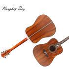 Zuwei 100% Handmade Acoustic Guitar Life Flower Inlay KOA Including Hardcase for sale