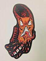 Deathwish x JJ Villard Quarantine Series Pig Cop Sneeze Skateboard Sticker Decal