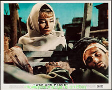 WAR AND PEACE Lobby Card Set 8x10 Inch Size N.Mint Movie Poster AUDREY HEPBURN