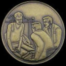 Recovery AA NA CA Man on Bed Recovery Medallion tokens Praying Serenity
