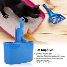 New listing Pet Cat Toilet Litter Scoops Cats Cleaning Tool Kitten Dustpan Broom Bucket Usa