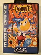 Gioco SEGA MEGA DRIVE - DYNAMITE HEADDY - Box megadrive game juego jeu