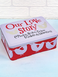 The Bright Side our love story tin wedding anniversary couple great gift novelty